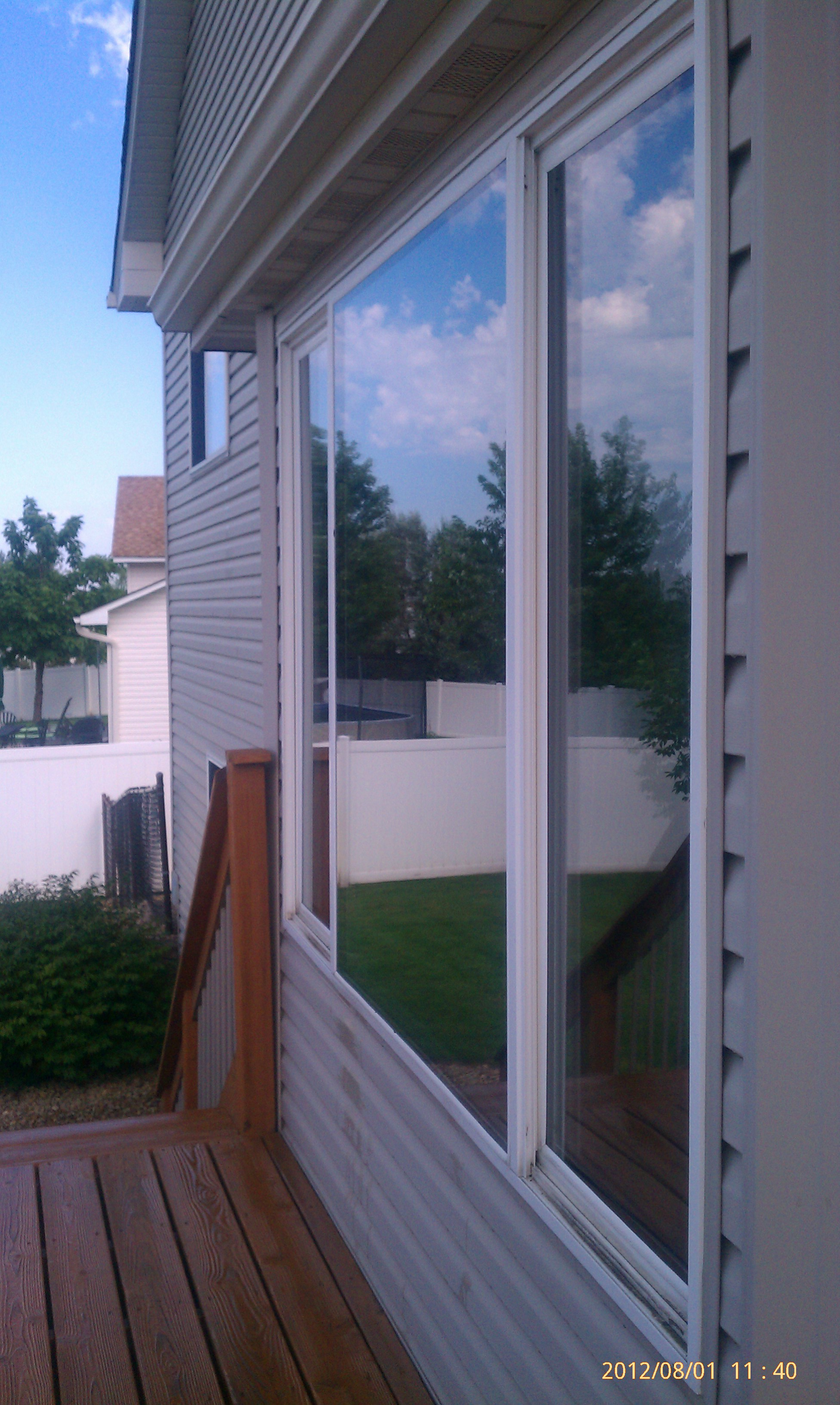 We provide residential window film installations for all for Windows for residential homes